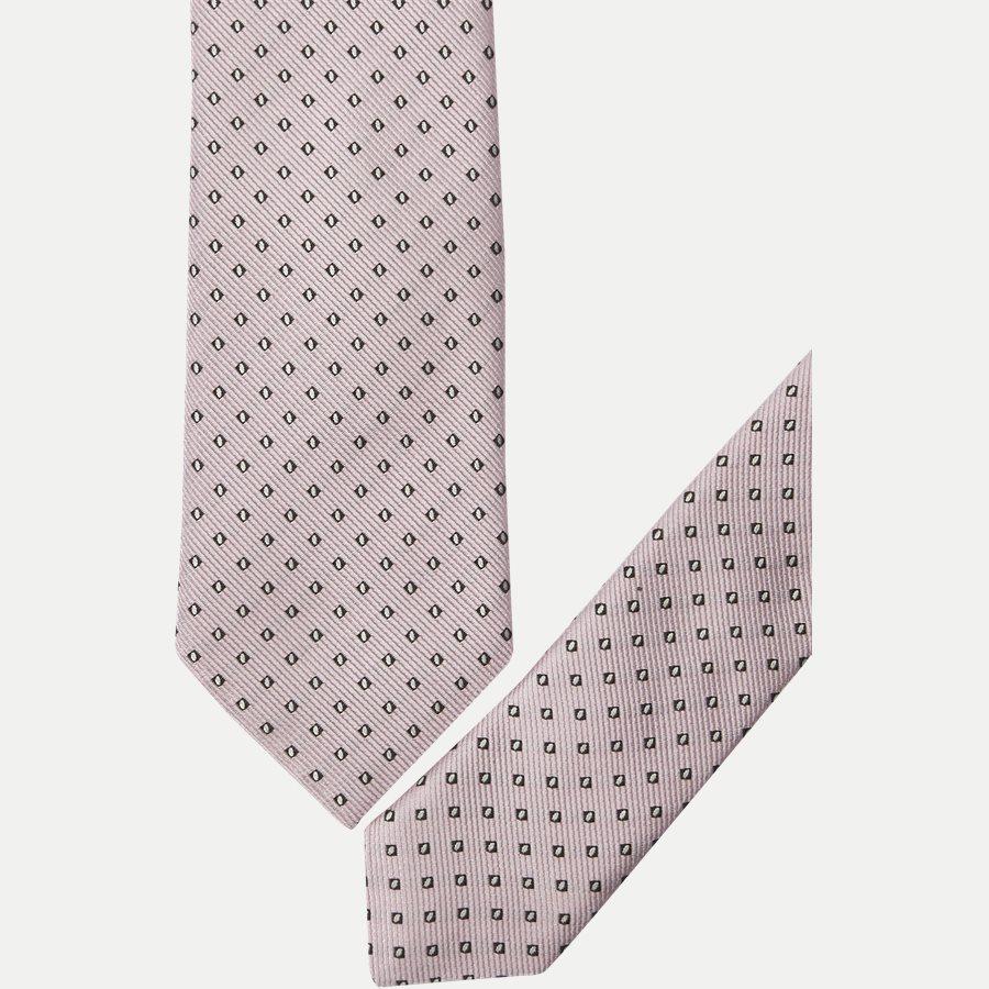 50330055 - Krawatten - LYS RØD - 2